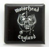 Motorhead - 'England' Square Badge